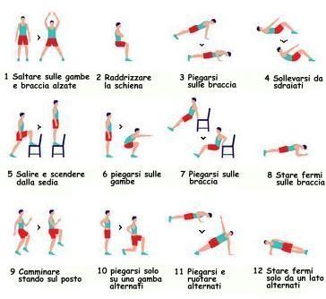 Scaricare la migliore serie di esercizi per perdita di peso della casa