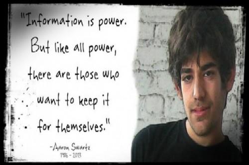 In memory of Aaron Swartz.